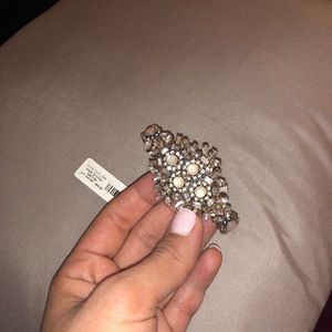 Ann Taylor Jewelry - New Ann Taylor stretch sparkle bracelet